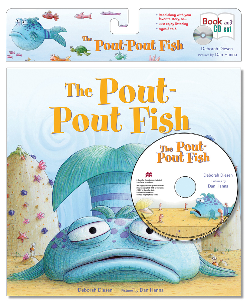 The pout pout fish book cd set review and giveaway for The pout pout fish book