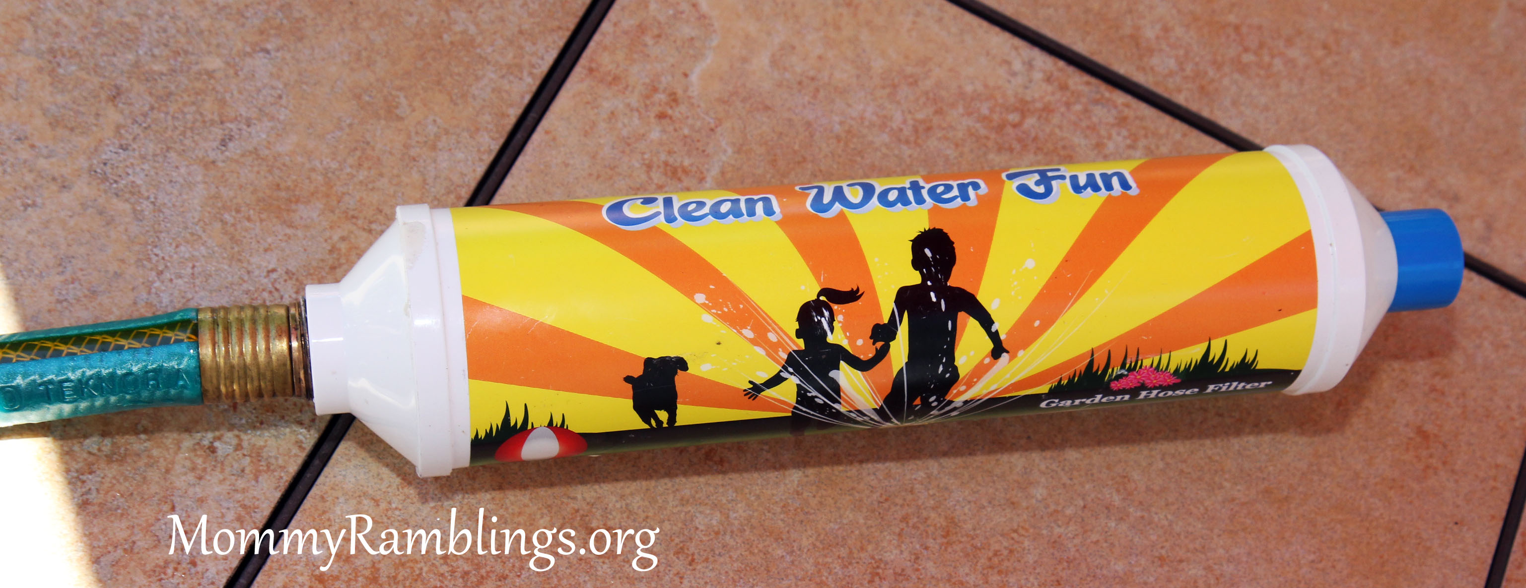 Clean Water Fun Garden Hose Filter Review Giveaway