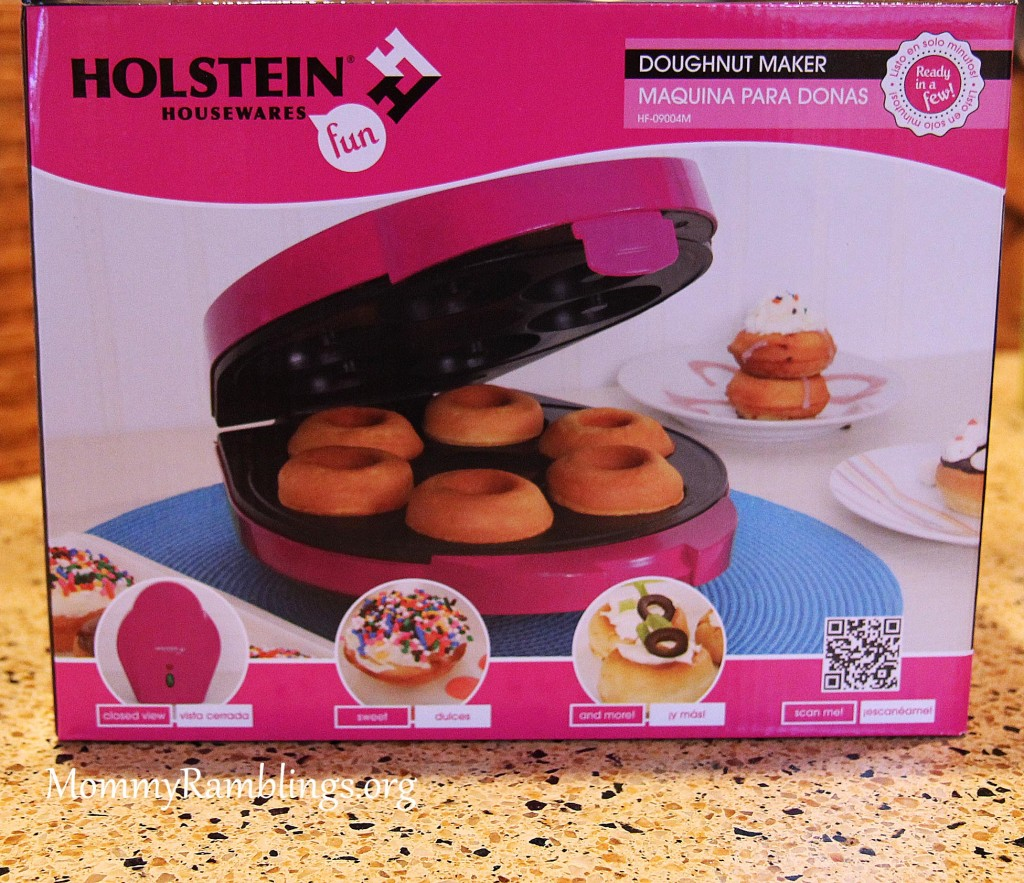 holstein housewares mini doughnut maker review mommy ramblings. Black Bedroom Furniture Sets. Home Design Ideas