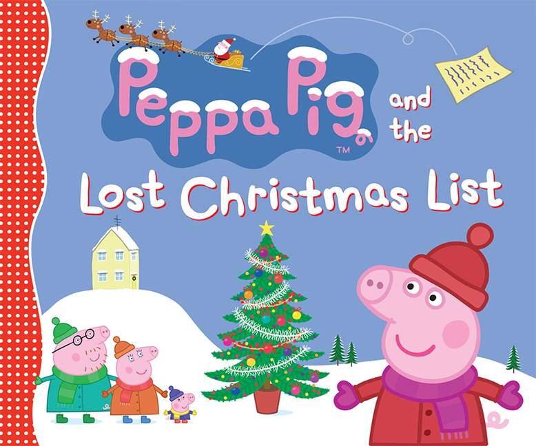 Peppa Pig Lost The Christmas List