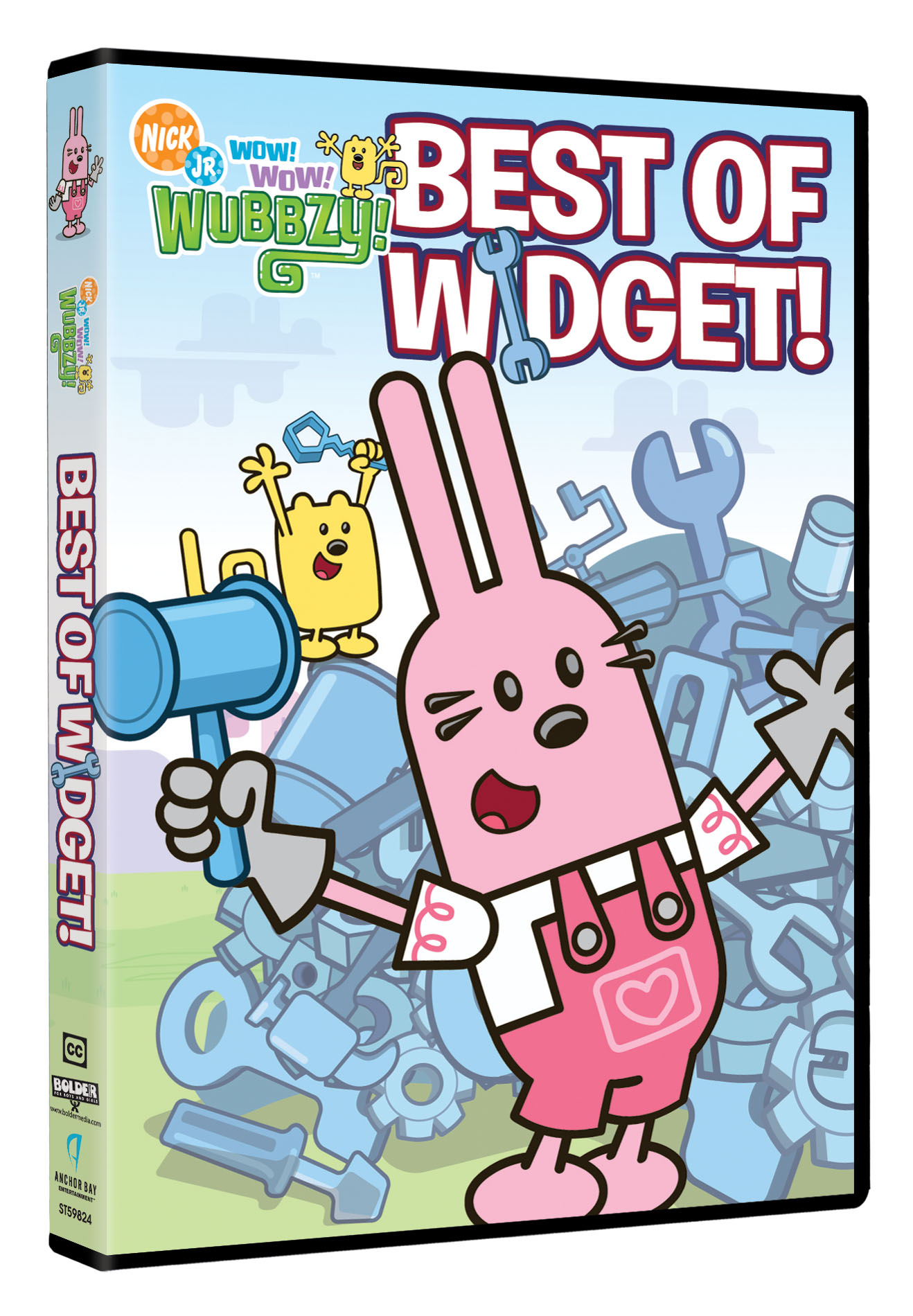 Nick jr dvd logo nick jr wow wow wubbzy best