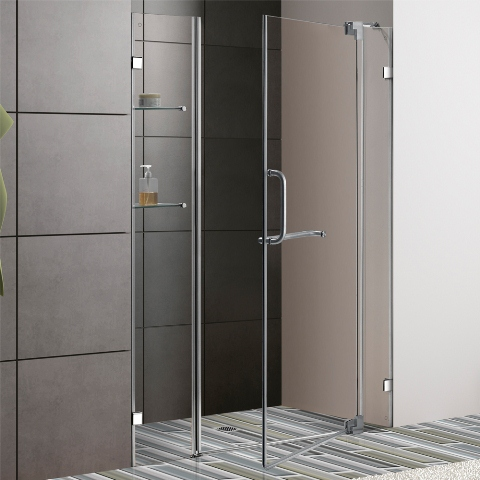 Choosing The Perfect Frameless Shower Doors For Your Bathroom Curbappeal Mommy Ramblings