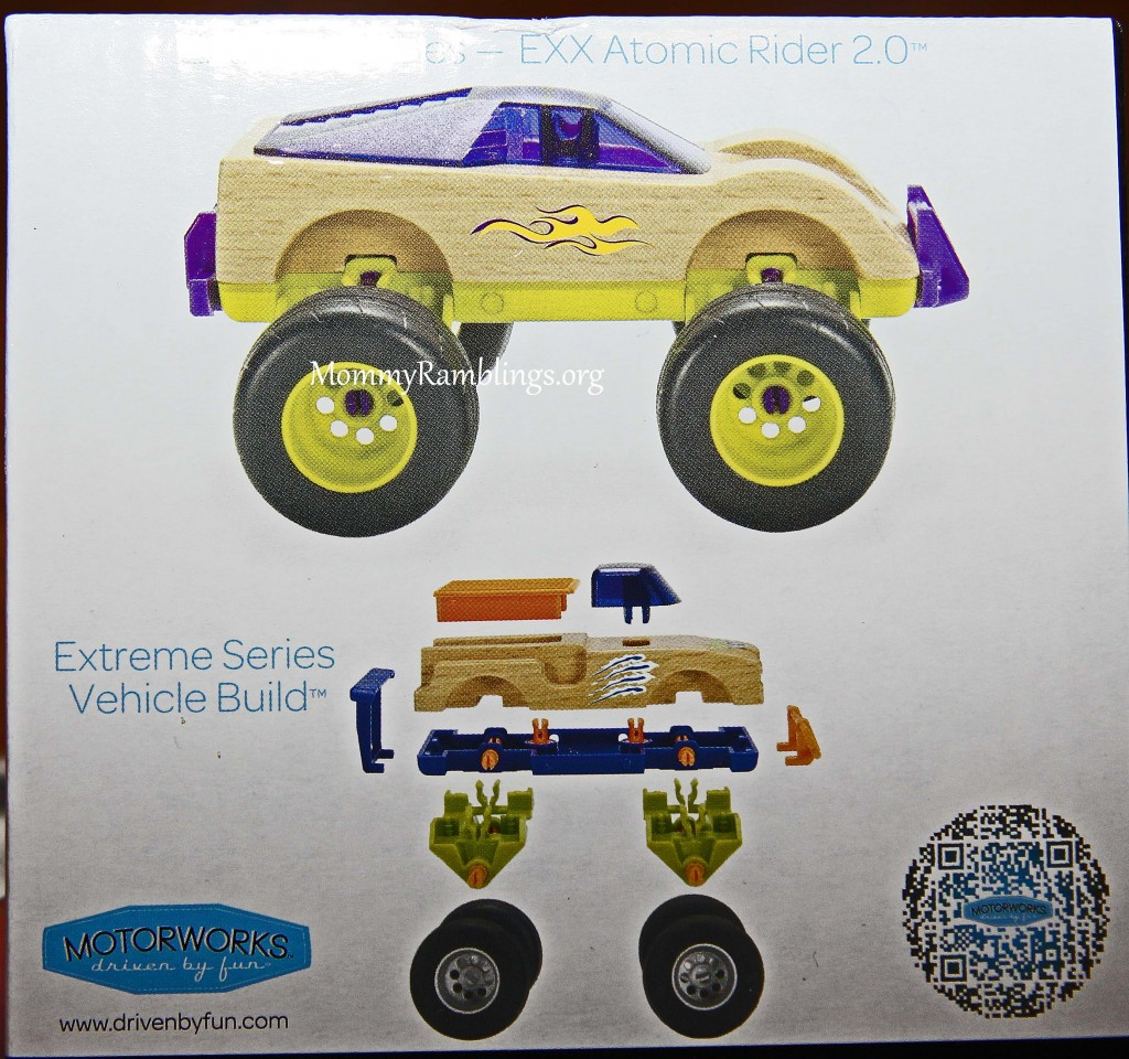 Manhattan Toy Motorworks Customizable Wood Vehicles