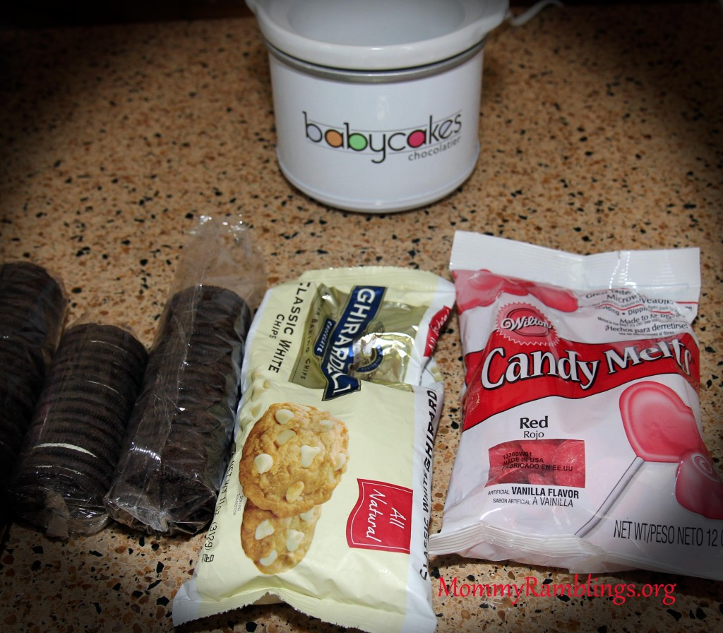 Your ingredients to make the cookies.