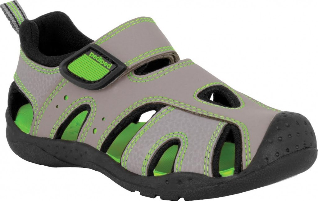 Clearance Pediped Racer Girls Casual Trainers Watersafe and Machine washable