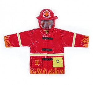 kidorable fire raincoat