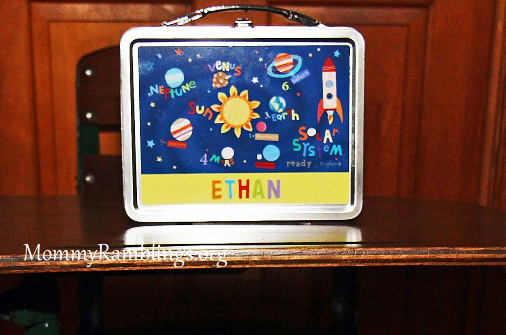 I See Me Lunch Box Planets
