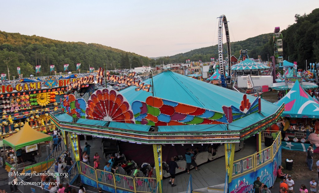 View From the Ferris Wheel-#OurSummerJourney