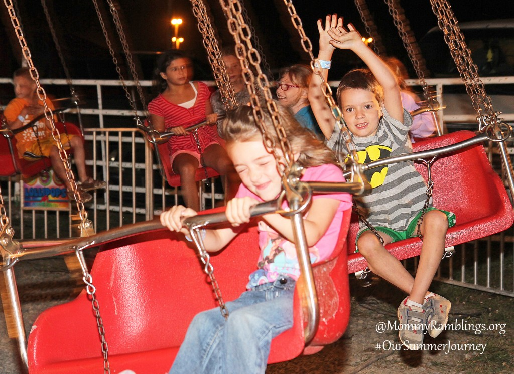 Riding The Swings--#OurSummerJourney