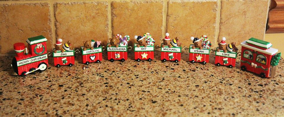 Ornaments With Love Train