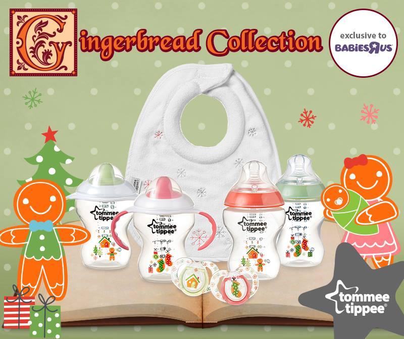 Tommee Tippee Gingerbread Bottles