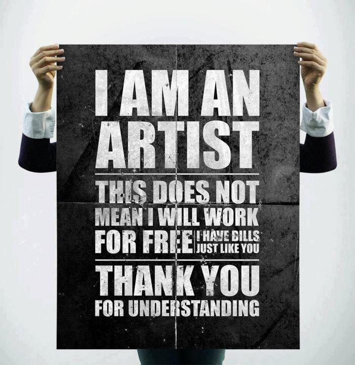 I will-not work for free