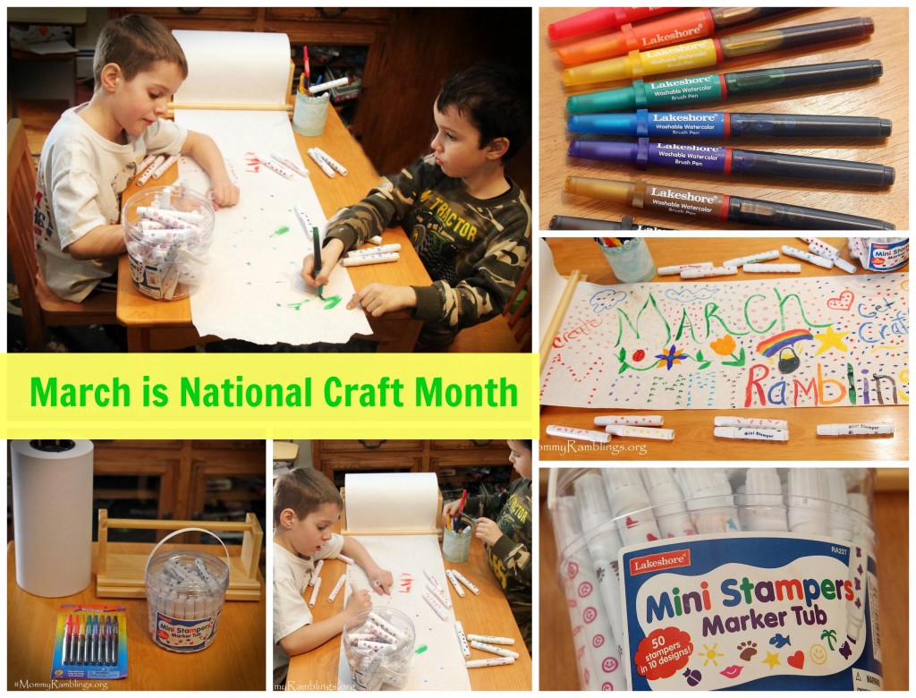 Lakeshore learning arts crafts giveaway for Craft of the month