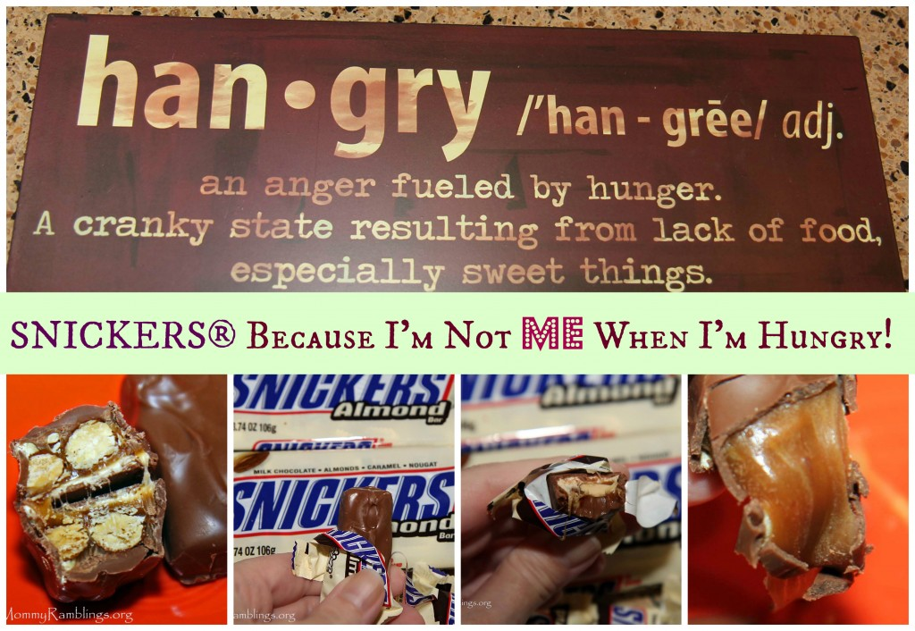 Snickers-I'm Not ME When I am hungry