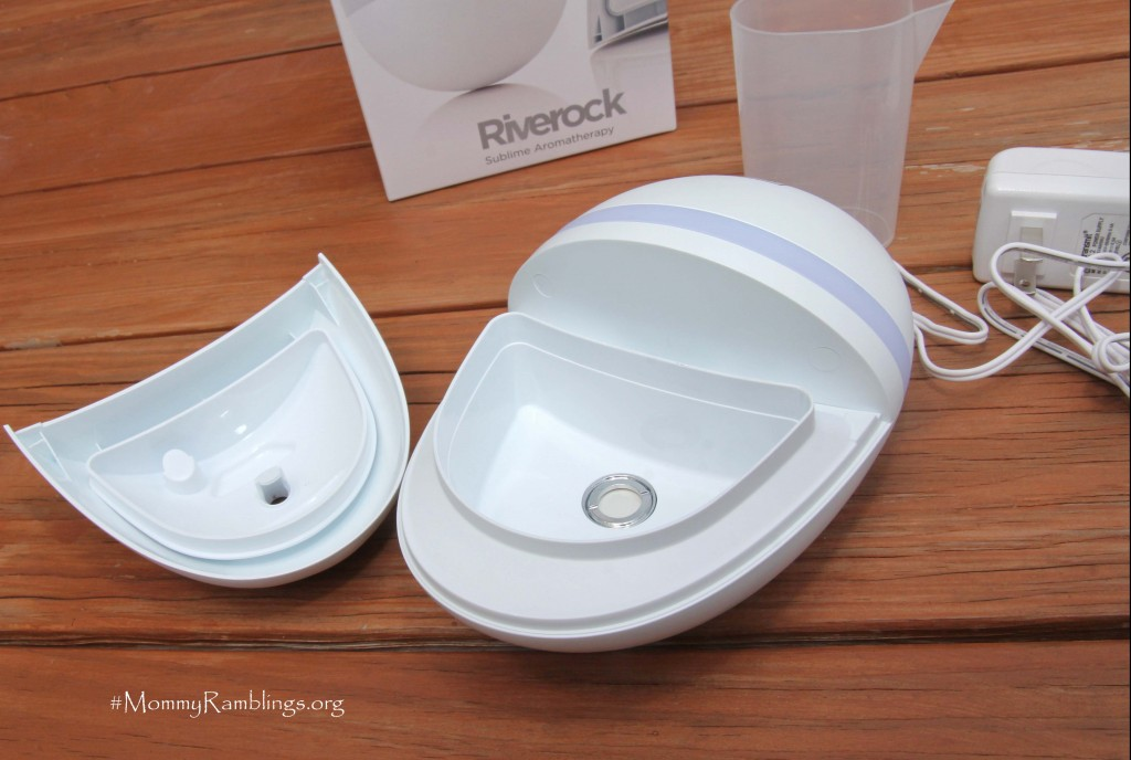 Eseential Oil RiverRock Diffuser Humidifier