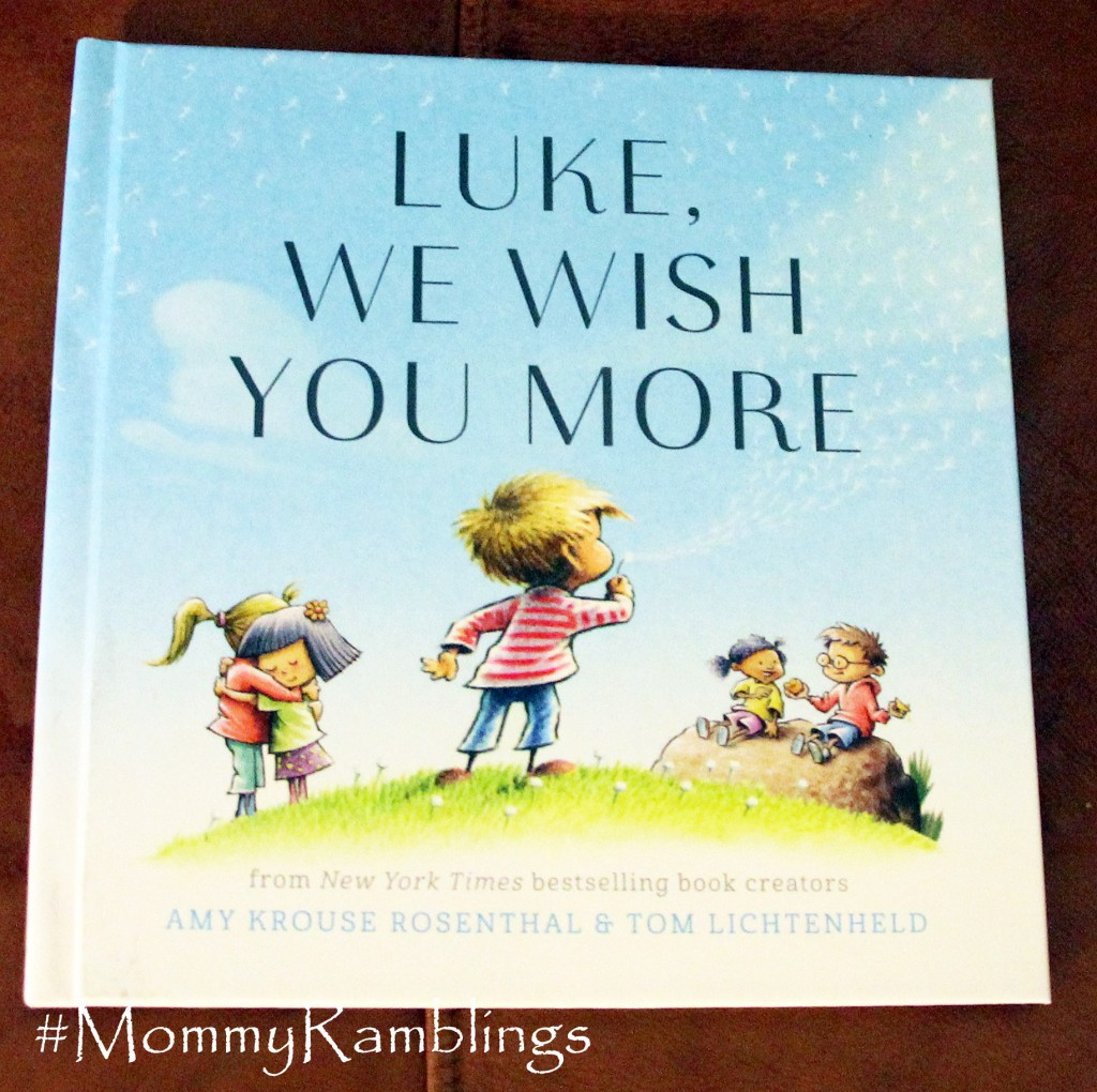 I See Me Luke We Wish You More Book