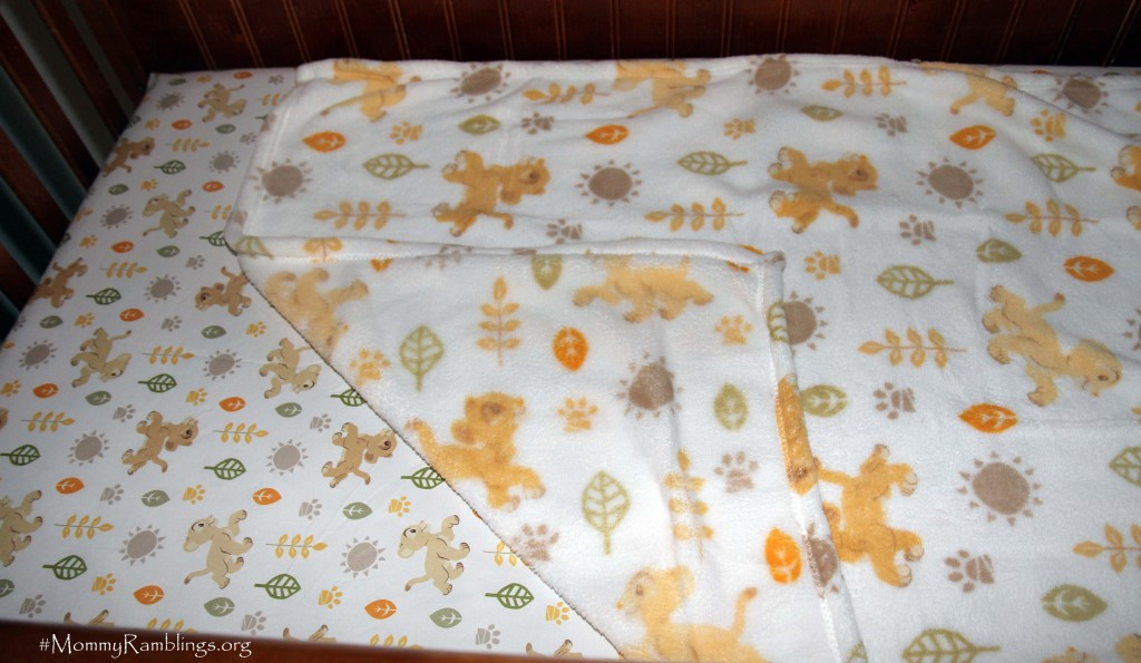 Lion King blanket Sheet Crib Bedding Disney