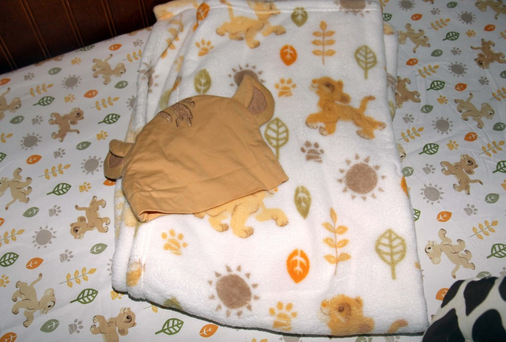 Lion King blanket cap