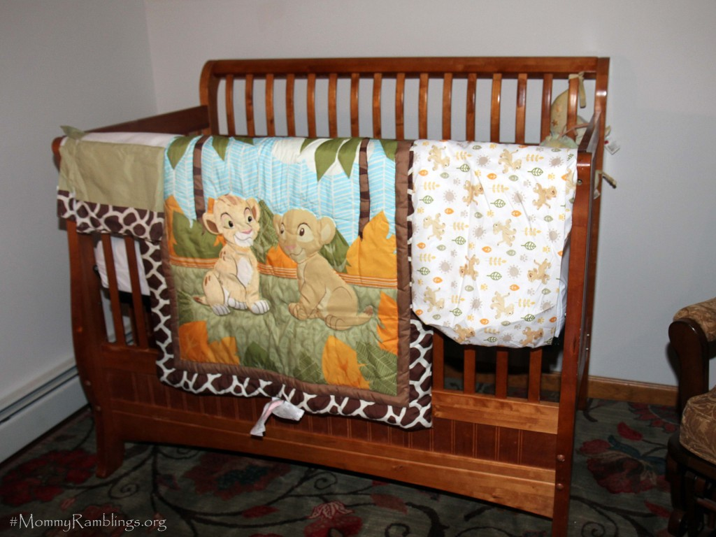 Lion king crib