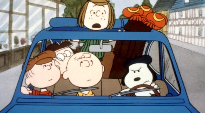BON VOYAGE, CHARLIE BROWN (AND DON'T COME BACK!), Linus Van Pelt, Marcie, Charlie Brown, Peppermint Patty, Snoopy, 1980, (c) Paramount