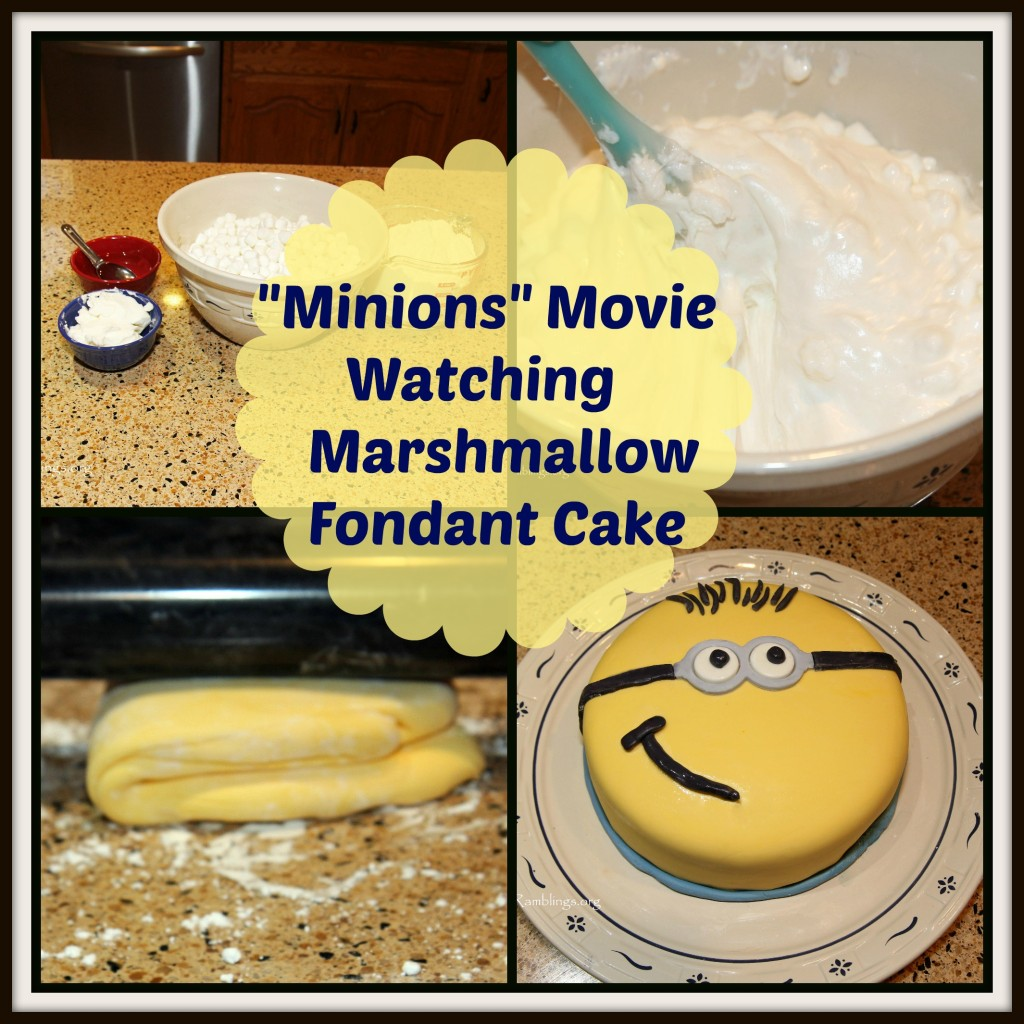 Decorate Cake With Marshmallow Fondant : How To Make Marshmallow Fondant & Decorate A Cake With It ...