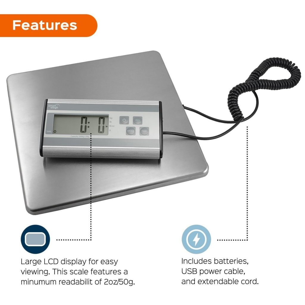 The smart weigh to ship your packages giveaway for Are smart scales worth it